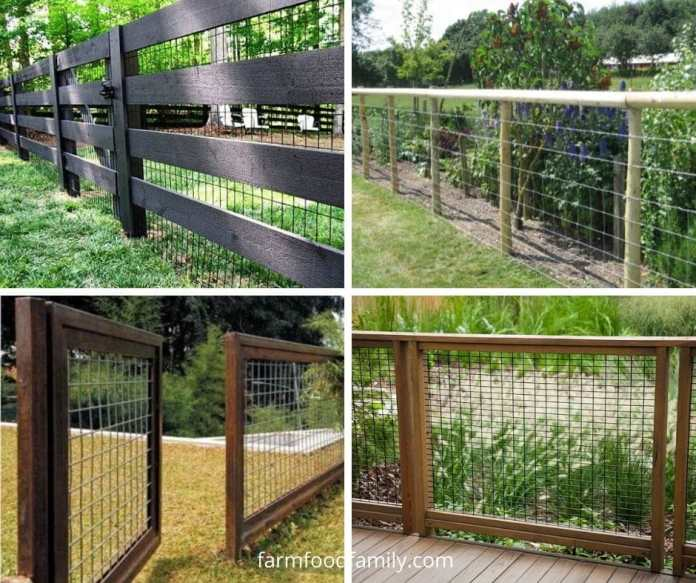 Hog wire fence ideas