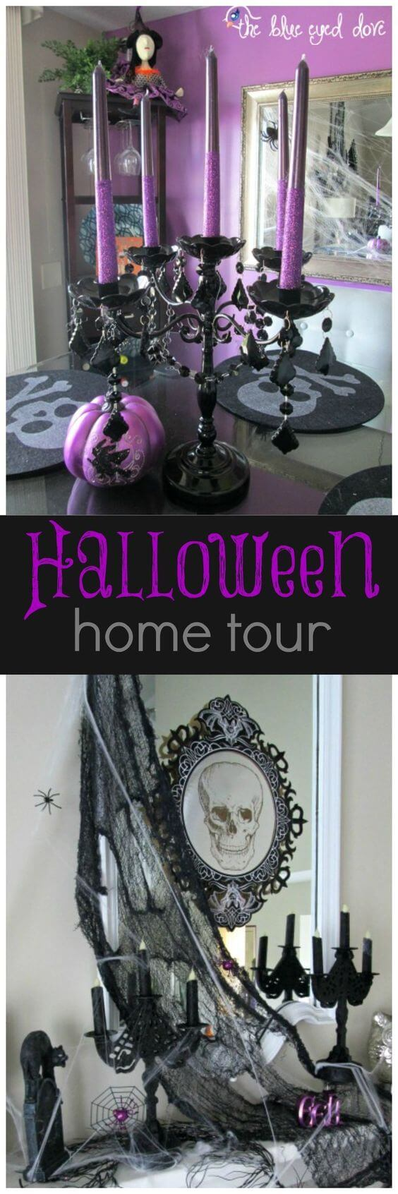 Trick Out the Fireplace | Awesome DIY Halloween Party Decor | BHG Halloween