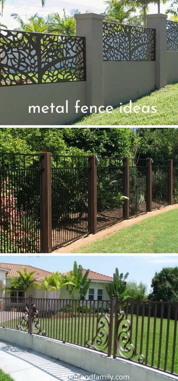 Modern and decorative fence ideas for homes