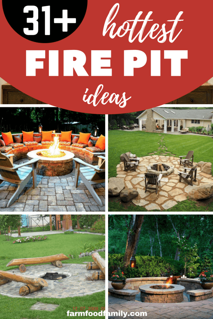 31+ Awesome Fire pit area ideas for outdoor