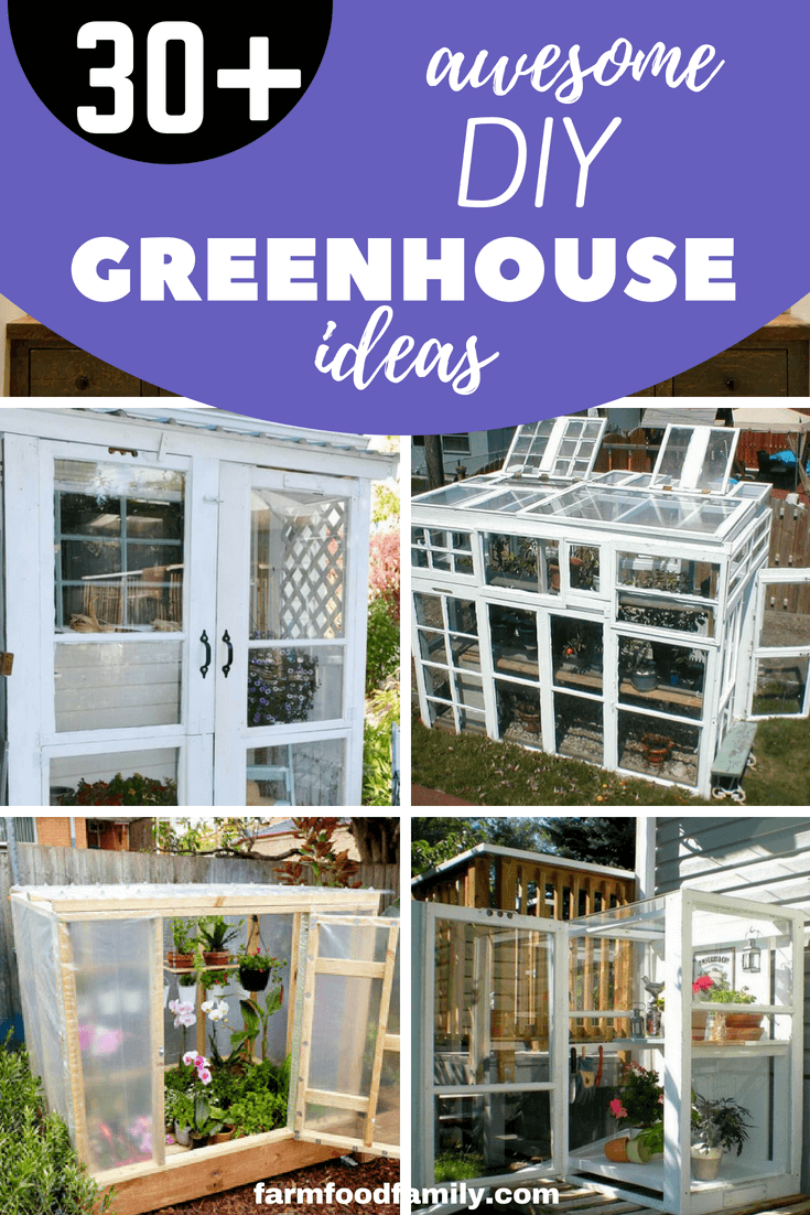 30 Amazing DIY Green House Plans & Ideas that are Easy to Create