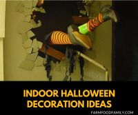51+ Spooky DIY Indoor Halloween Decoration Ideas For 2018