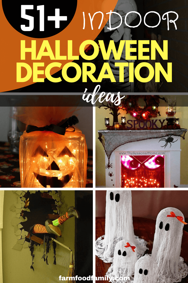 51+ DIY Indoor Halloween Decoration Ideas