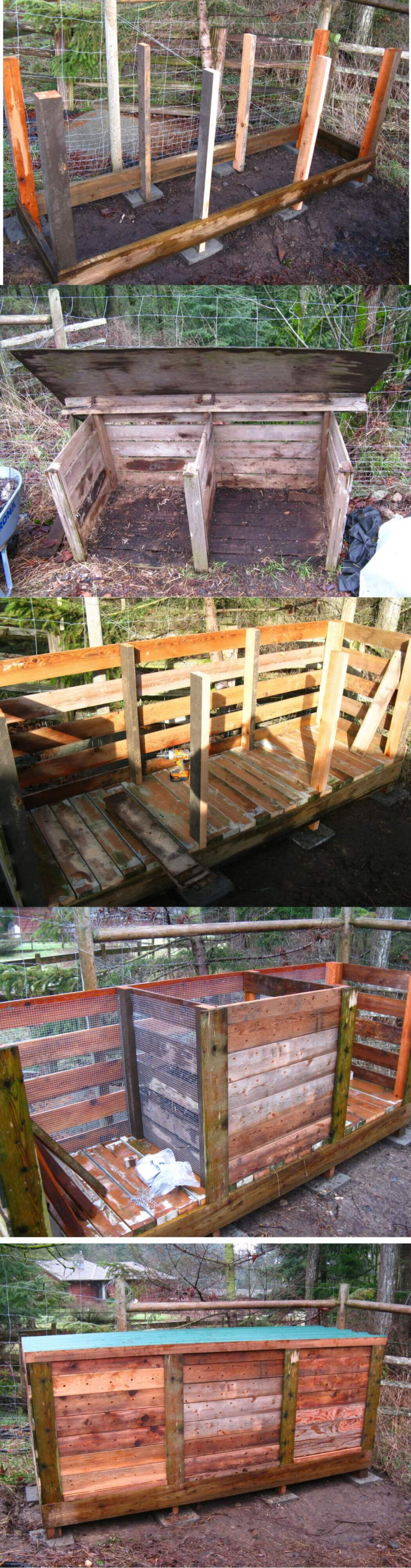 Ultimate Compost Bin | Easy Compost Bins You Can DIY On Very Low Budget - FarmFoodFamily.com