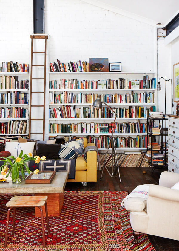 Eclectic Collectibles Living Room