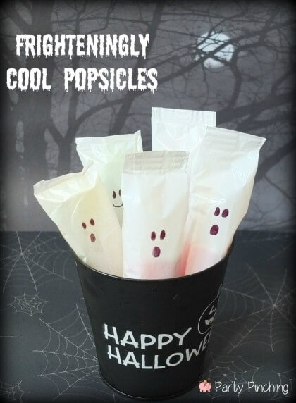 Frighteningly Cool Popsicles | Last-Minute Halloween Crafts and Hacks | FarmFoodFamily.com