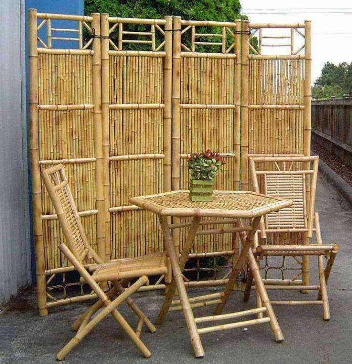Bamboo Furniture | Stunning Bamboo Craft Projects | FarmFoodFamily.com