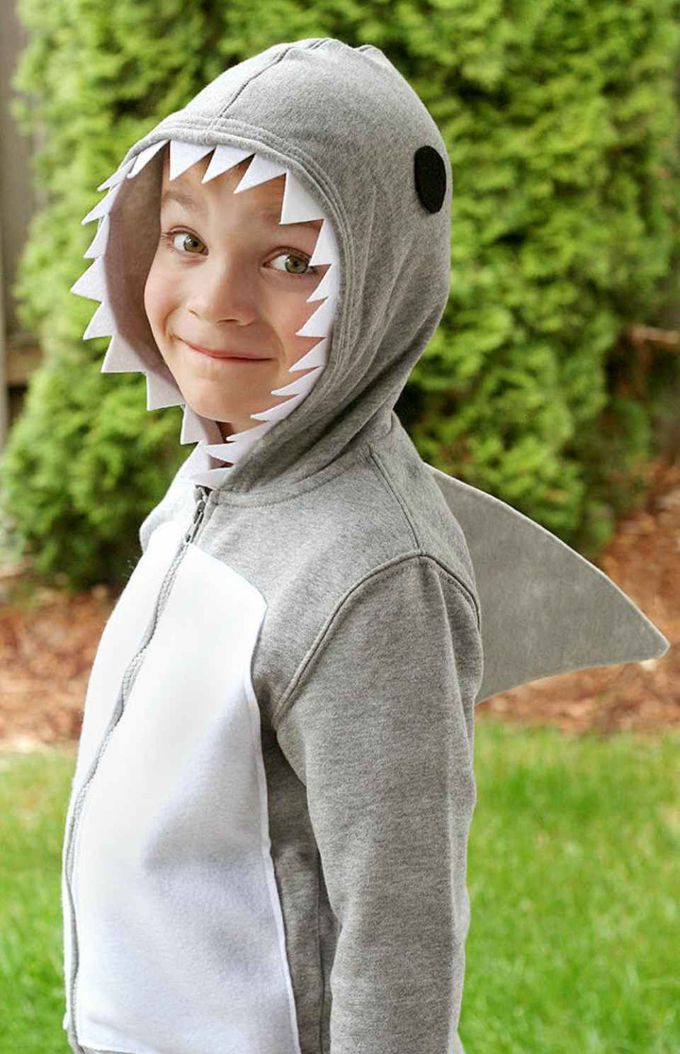 Shark Costume | Animal Halloween Costumes for Kids, Adults - FarmFoodFamily.com