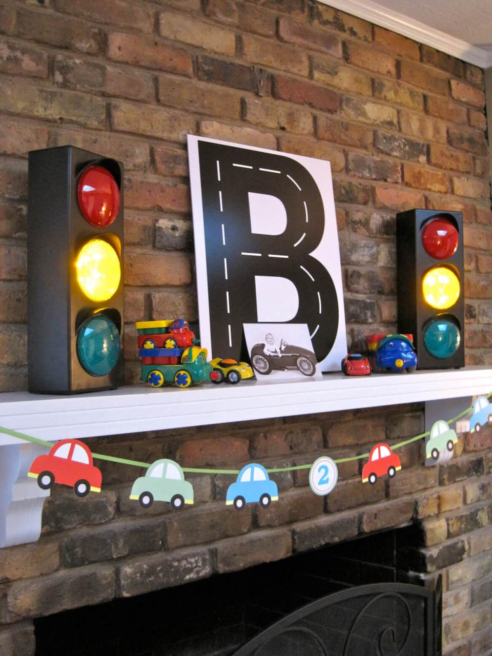Car Birthday party | DIY Race Car Tracks for Kids - FarmFoodFamily