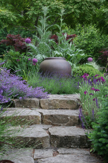 Stone Stair | Creative Garden Step & Stair Ideas | FarmFoodFamily