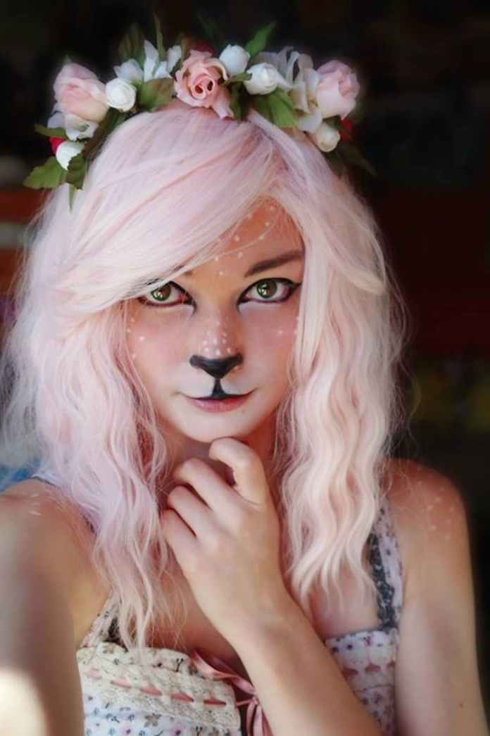 Faun Makeup | Animal Halloween Costumes for Kids, Adults - FarmFoodFamily.com