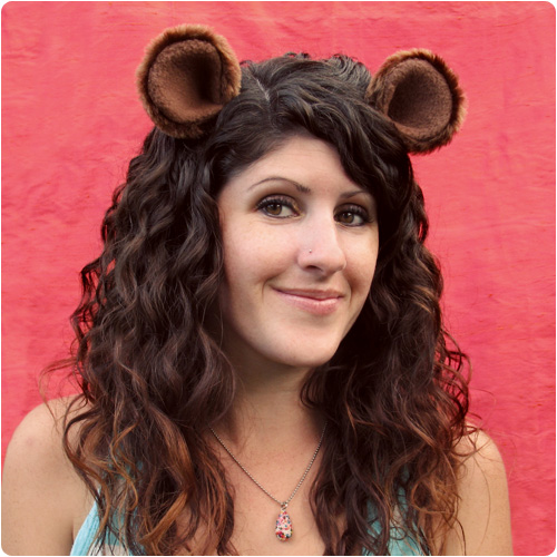 Animal Ear Hair Clip | Animal Halloween Costumes for Kids, Adults - FarmFoodFamily.com