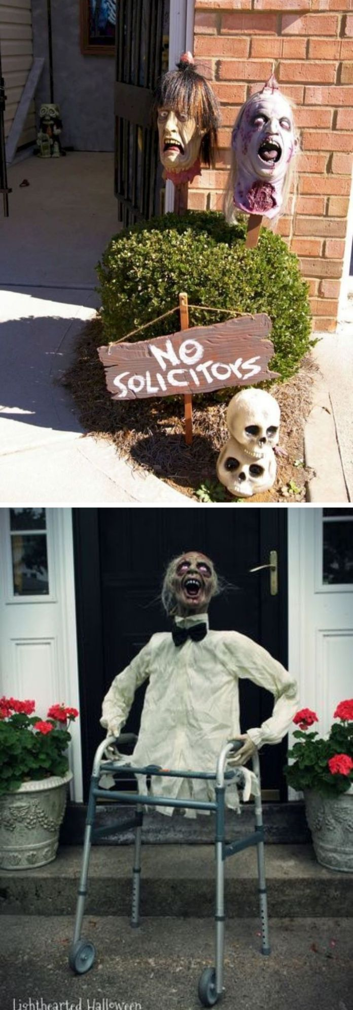 27 Spooky Halloween Entrance Ideas You Can Try 2020