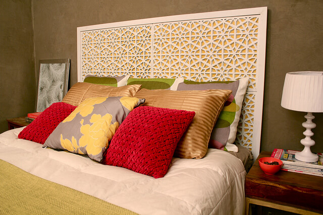West Elm Morocco Headboard | DIY Headboard Decoration Ideas for Bedroom
