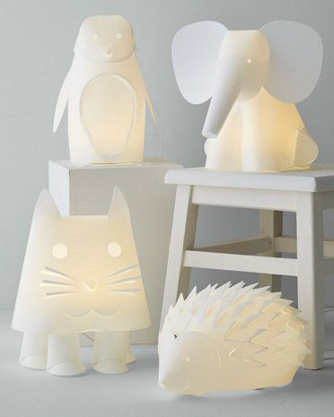 Zoo-themed lighting for a nursery | Cool Zoo Themed Bedroom Ideas For Kids or Nursery