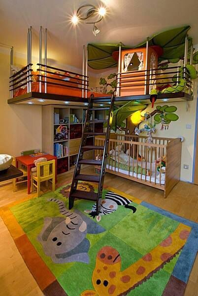 Zoo style bedroom for boy | Cool Zoo Themed Bedroom Ideas For Kids or Nursery