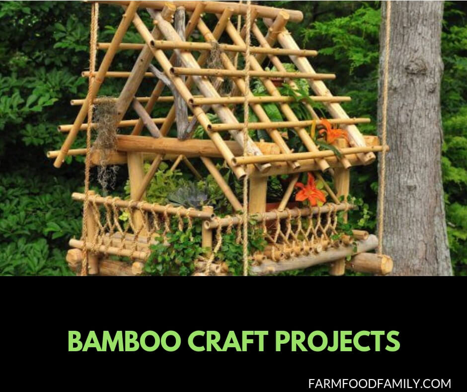 18 Stunning Bamboo Craft Projects Will Catch Your Eye