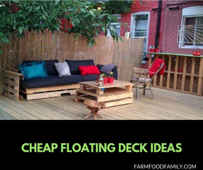 21 Cheap floating deck ideas for your backyard