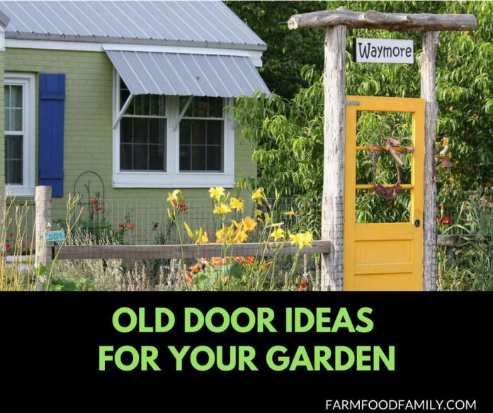 31 Ideas to repurpose your old door