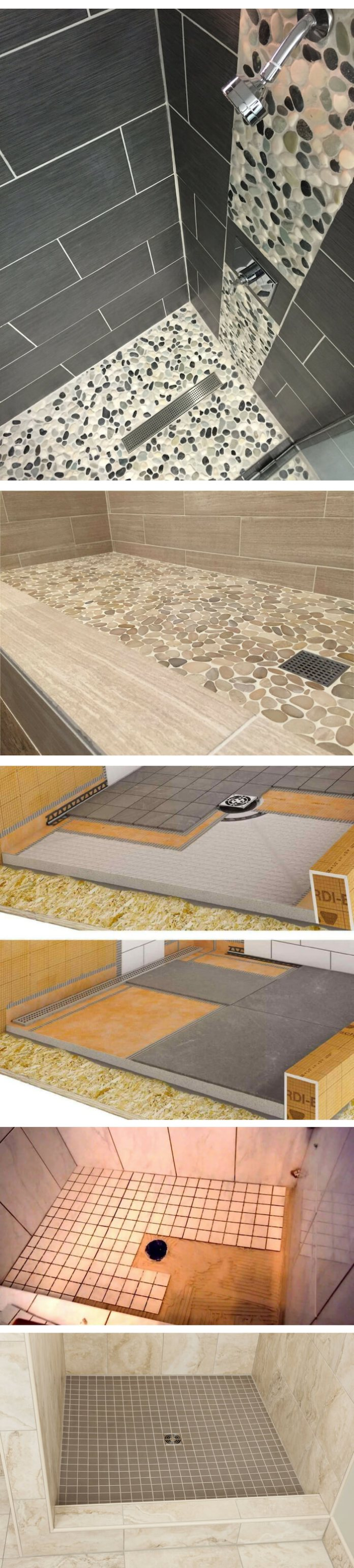 Blogule bathroom floor tile ideas