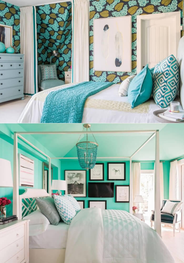 Cool contrast | Decorating Teen Bedrooms: Transforming a Child's Room with Teenage Décor - FarmFoodFamily.com