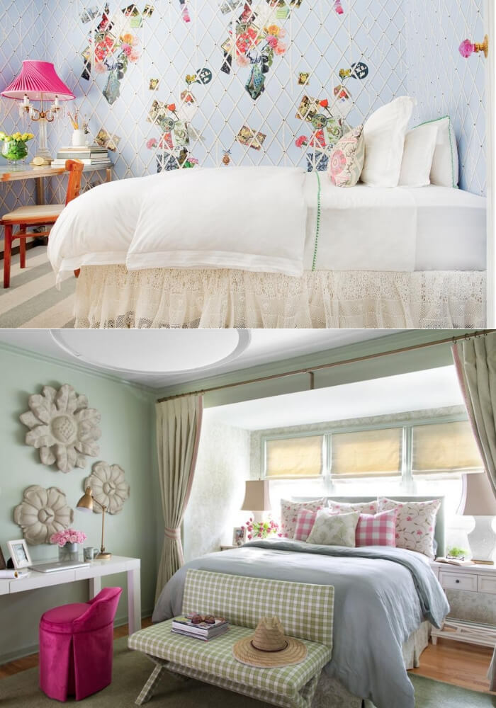 Lovely lilac | Decorating Teen Bedrooms: Transforming a Child's Room with Teenage Décor - FarmFoodFamily.com