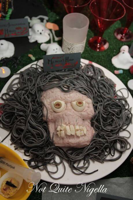 Medusa's head | Halloween Party Food Ideas | Halloween Party Themes For Adults