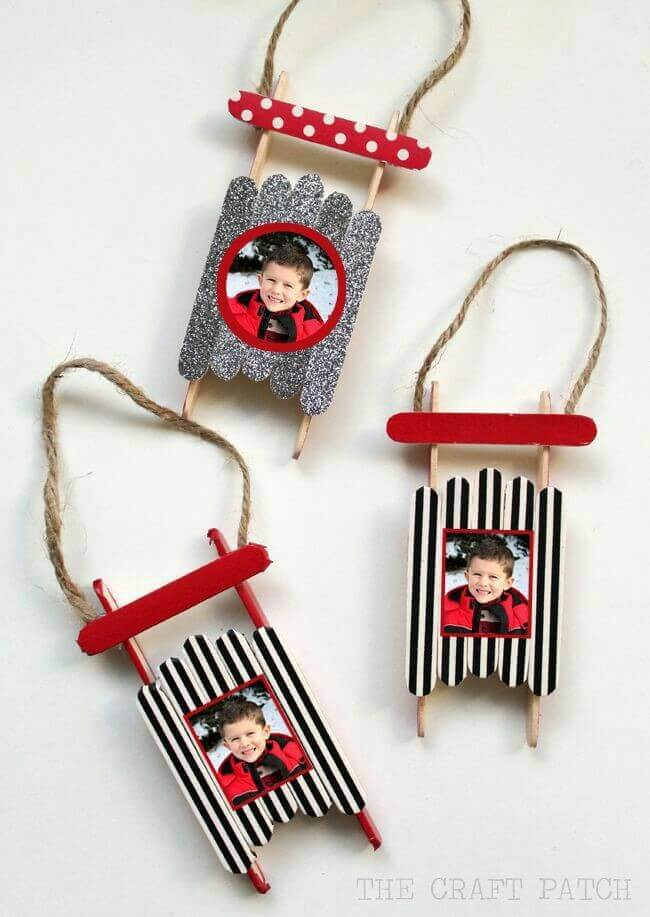 2d Christmas Photo Frames | Photo Frames | Easy, Inexpensive, and Creative Christmas Crafts for Kids