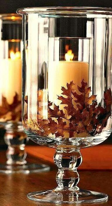 Fall decor | DIY Fall Candle Decoration Ideas - Farmfoodfamily.com