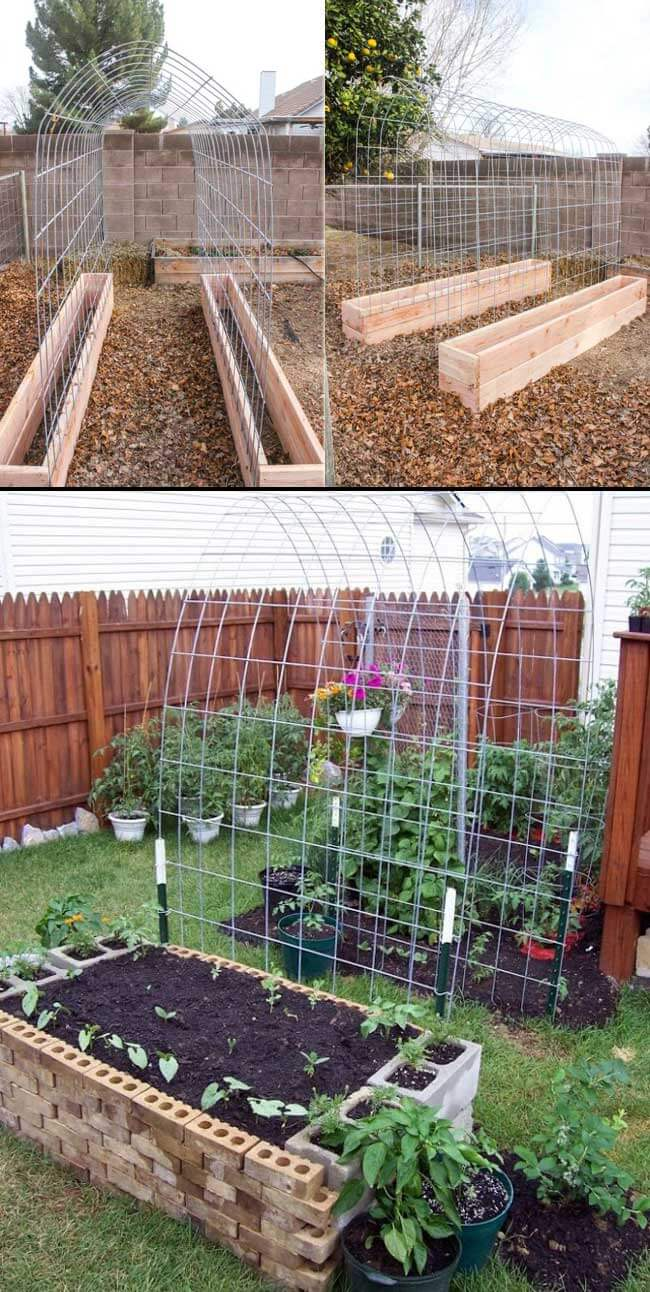 46 Simple Raised Vegetable Garden Bed Ideas 2020 Farmfoodfamily