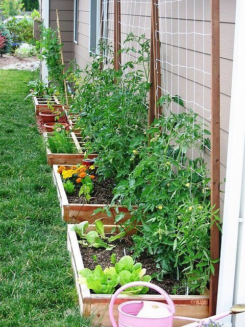 46+ Simple Raised Vegetable Garden Bed Ideas 2020 ... on raised garden boxes, raised garden bed plans, raised gardening plans, raised garden blueprints, raised garden plans and layouts, raised garden bed construction, raised veggie garden plans, raised planters design plans,