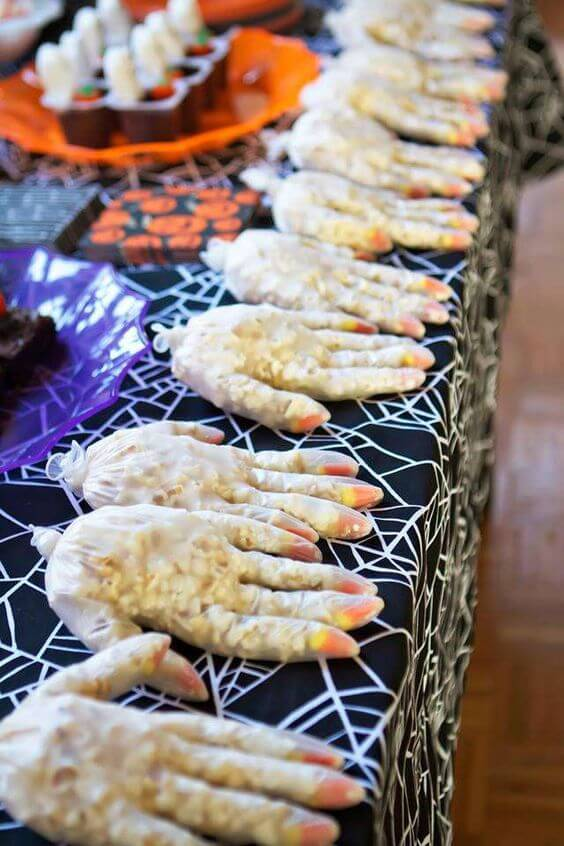 Spooky treats at a Halloween birthday party | Halloween Party Themes For Adults