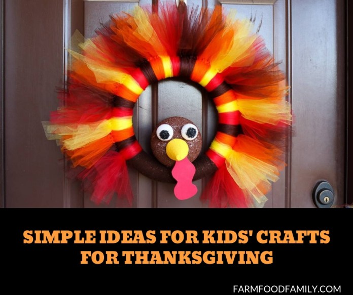 Simple-Ideas-for-Kids'-Crafts-for-Thanksgiving