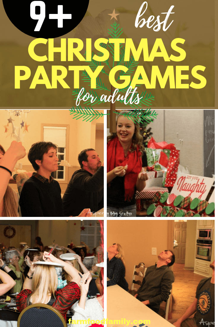 9 Best Christmas Party Games For Adults 2019 Farmfoodfamily