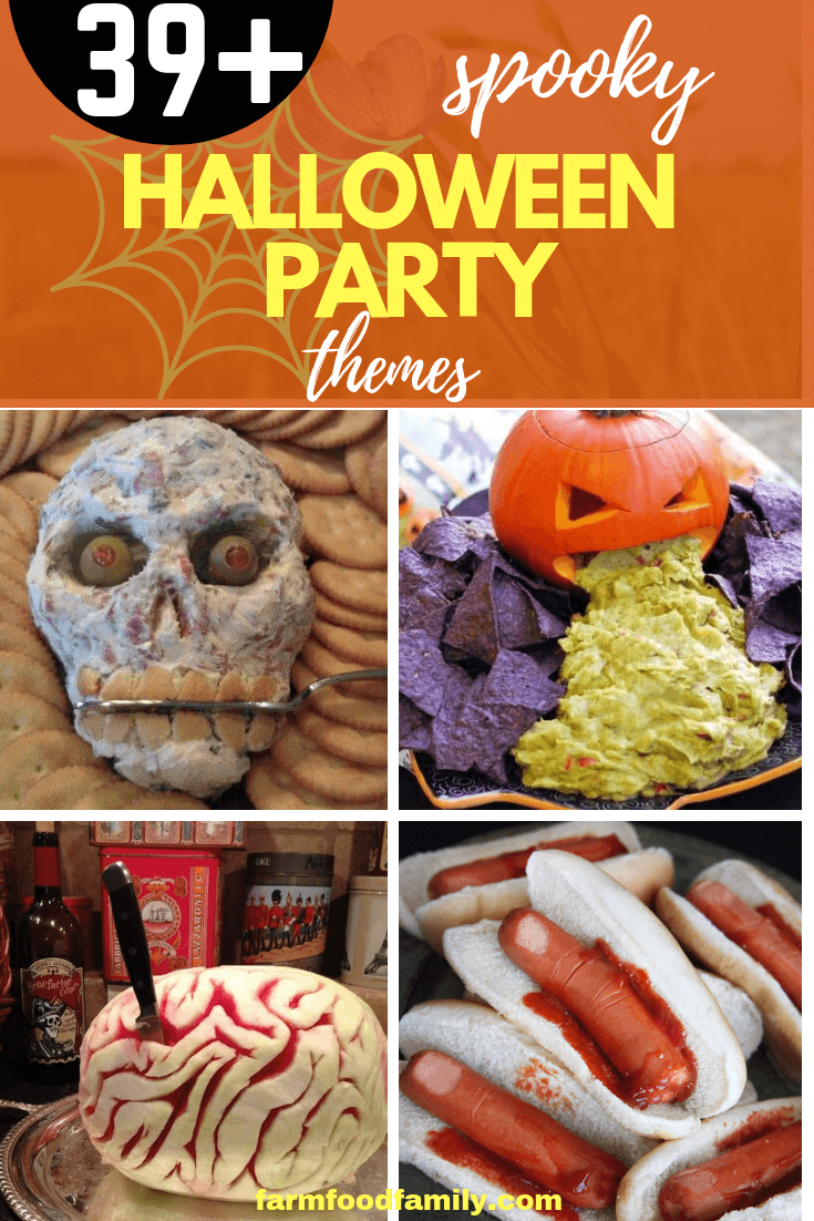 39+ Spooky Halloween Party Ideas For Adults 2019- FarmFoodFamily