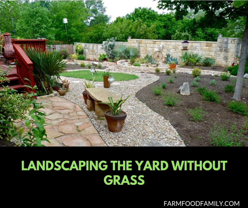 44+ Best Landscaping Design Ideas Without Grass - No Grass ...