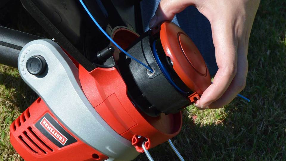 Bump feed and auto feed string trimmer