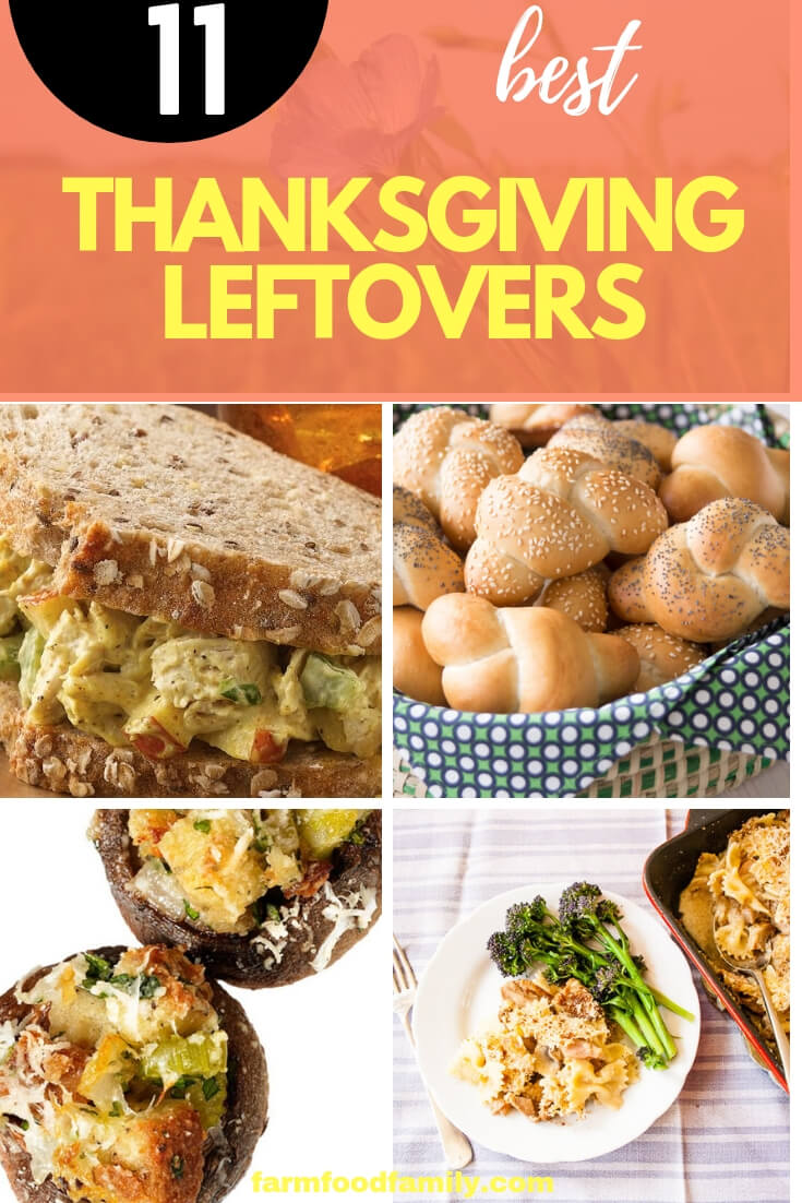 Once the holiday has passed and stomachs are hungry again, there is an abundance of leftover food. Try out some new twists on ideas besides the usual turkey sandwich.