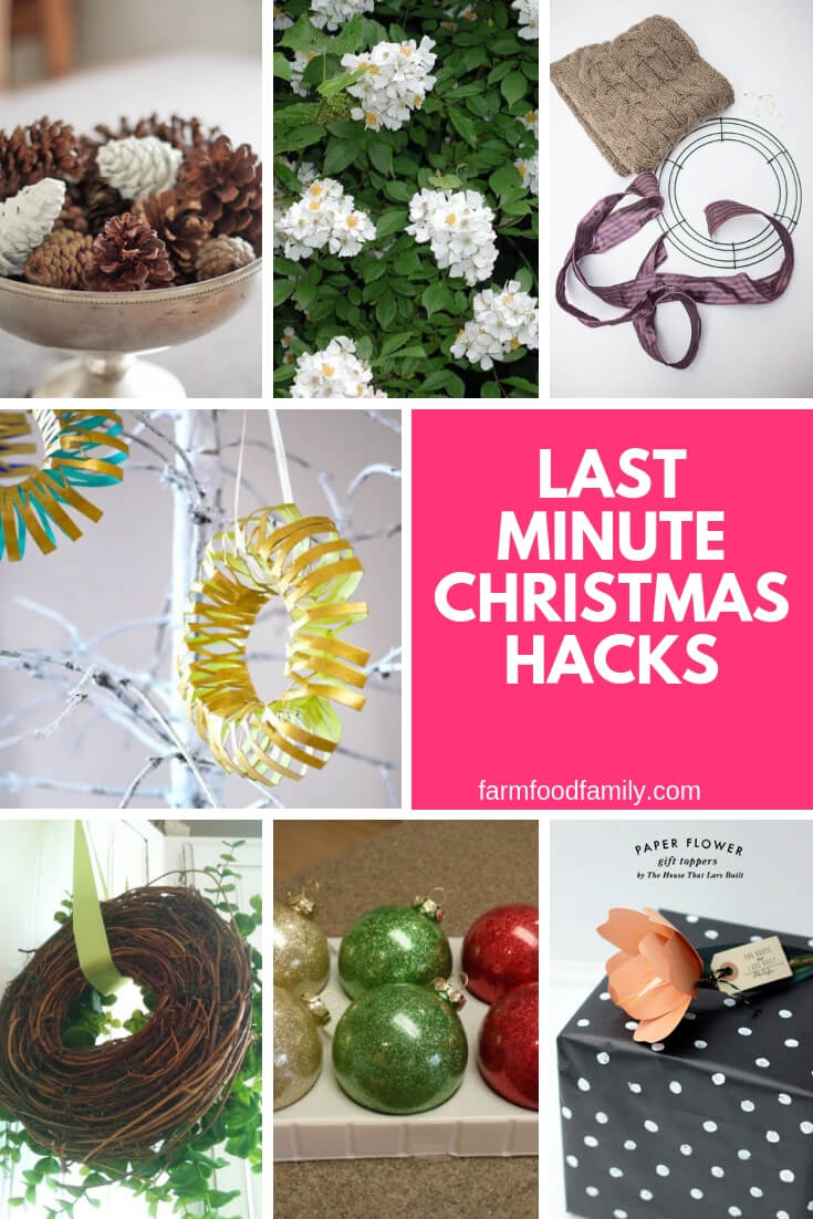 Last minute Christmas hacks