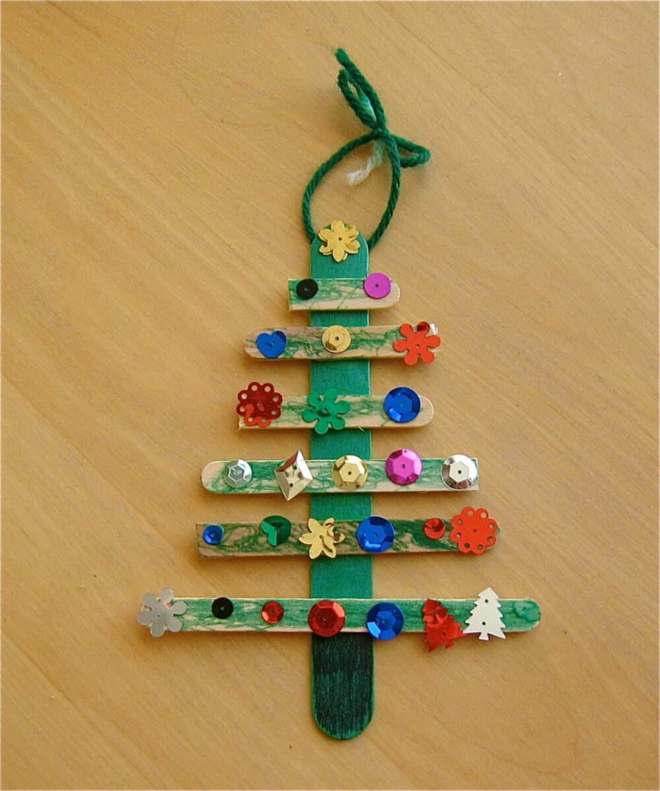 Christmas Tree Craft | Homemade Ornaments | Easy, Inexpensive, and Creative Christmas Crafts for Kids