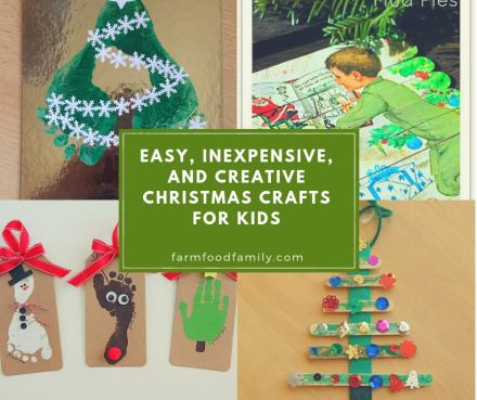 Easy, Inexpensive, and Creative Christmas Crafts for Kids