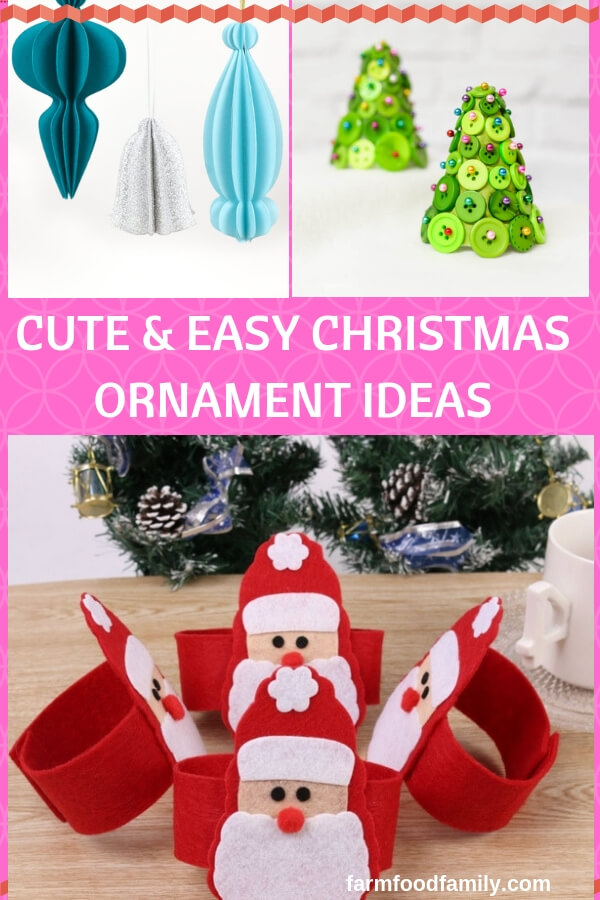 easy Christmas ornament ideas