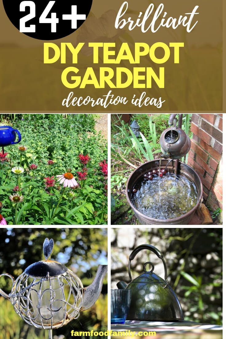 fun diy teapot garden decoration ideas