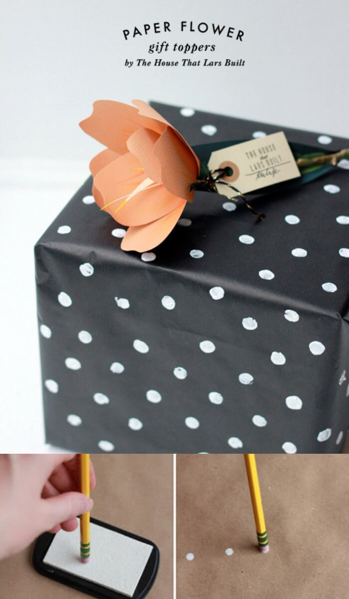 Polka Dot Gift Wrappers | Last Minute Christmas Ideas and Hacks