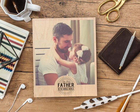 Personalized Photo Gift | Christmas Gift Ideas for Dad