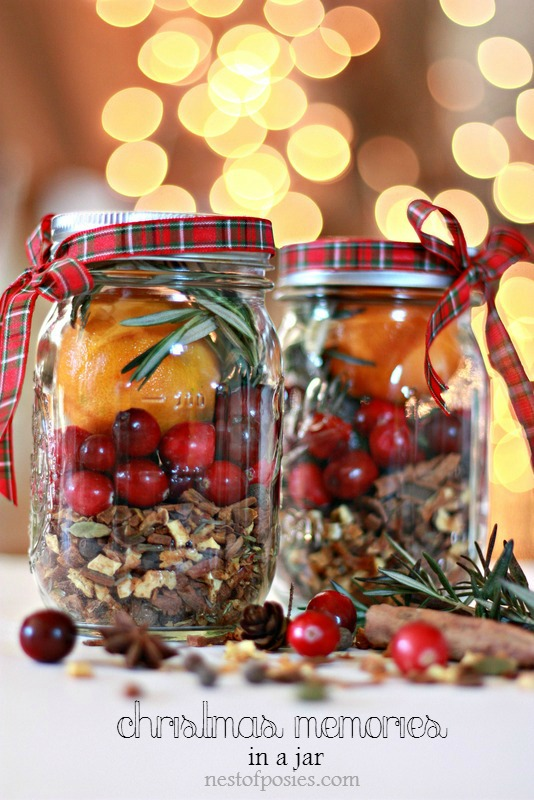 Christmas Memories In a Jar