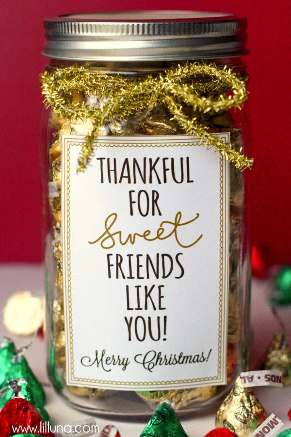 Gratitude In A Jar | Christmas Gift Ideas for Friends