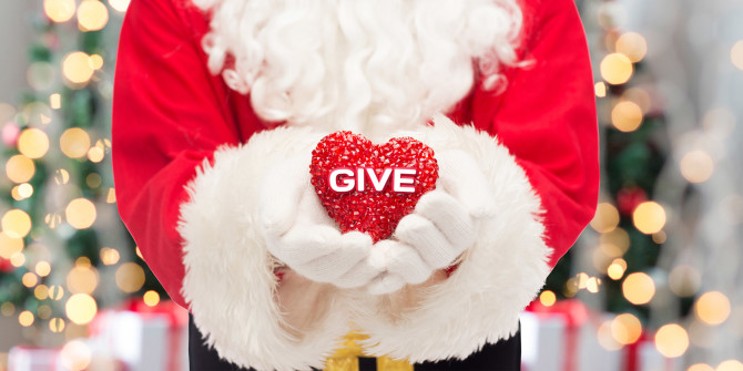 Charitable Donations - Volunteer the Family to a Charity for Christmas