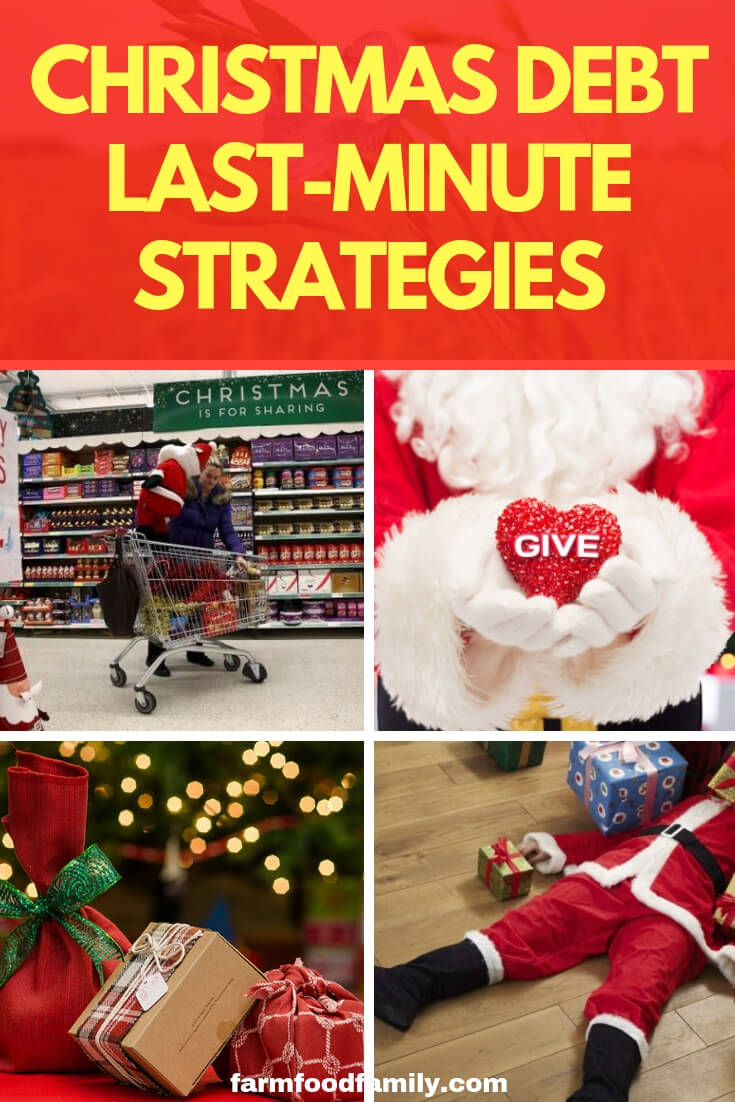 Christmas Debt - Last-Minute Strategies