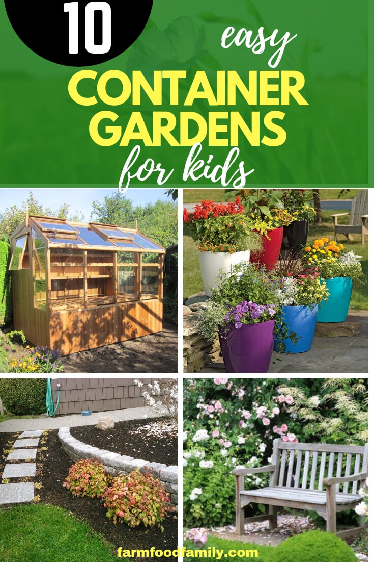 Container Gardens for Kids: Weekend Gardening Project for Children